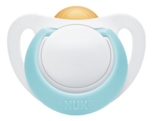 NUK: Genius Latex Soother - 0-6 Months (2 Pack)