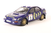 Corgi: 1/43 Subaru Impreza 555 - Ari Vatanen 1993 RAC Rally - Diecast Model