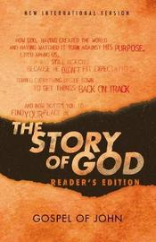 NIV, The Story of God, Gospel of John, Reader's Edition, Paperback by Zondervan