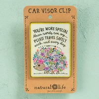 Natural Life: Visor Clip - You're More Special