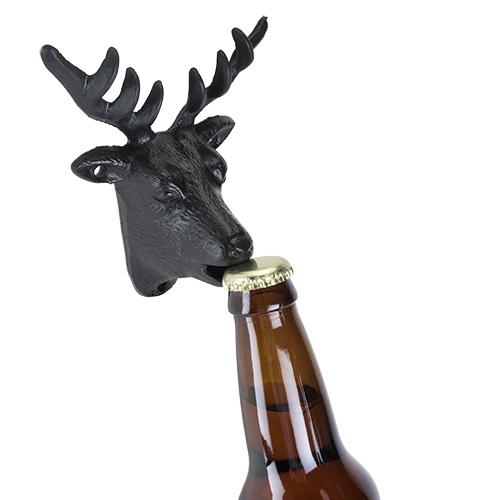 Cast Iron Wall Mounted Deer Bottle Opener