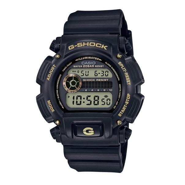 Casio DW9052GBX-1A9 G-Shock Chronograph Digital Men's Watch (Black/Gold)