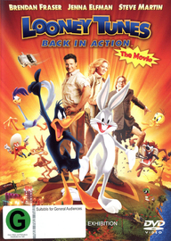 Looney Tunes: Back In Action on DVD image