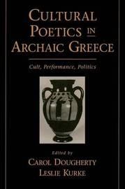 Cultural Poetics in Archaic Greece image
