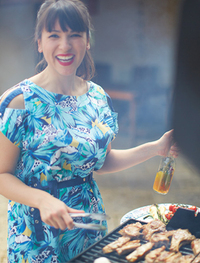 My Little French Kitchen (UK Edition): Over 100 Recipes from the Mountains, Market Squares and Shores of France by Rachel Khoo