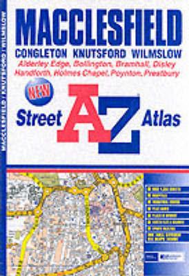 A-Z Macclesfield Street Atlas by a-Z Geographers image