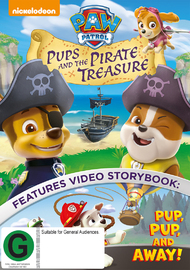 Paw Patrol: Pups And The Pirate Treasure on DVD