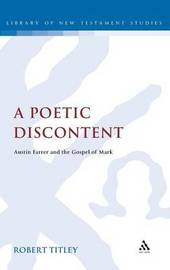 A Poetic Discontent by Robert Titley image