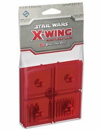 Star Wars X-Wing: : Red Bases & Pegs