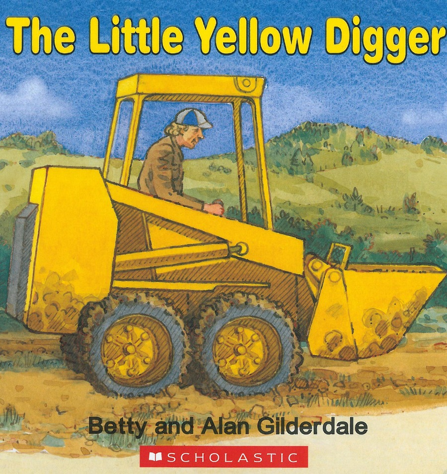 The Little Yellow Digger Book by Betty Gilderdale image