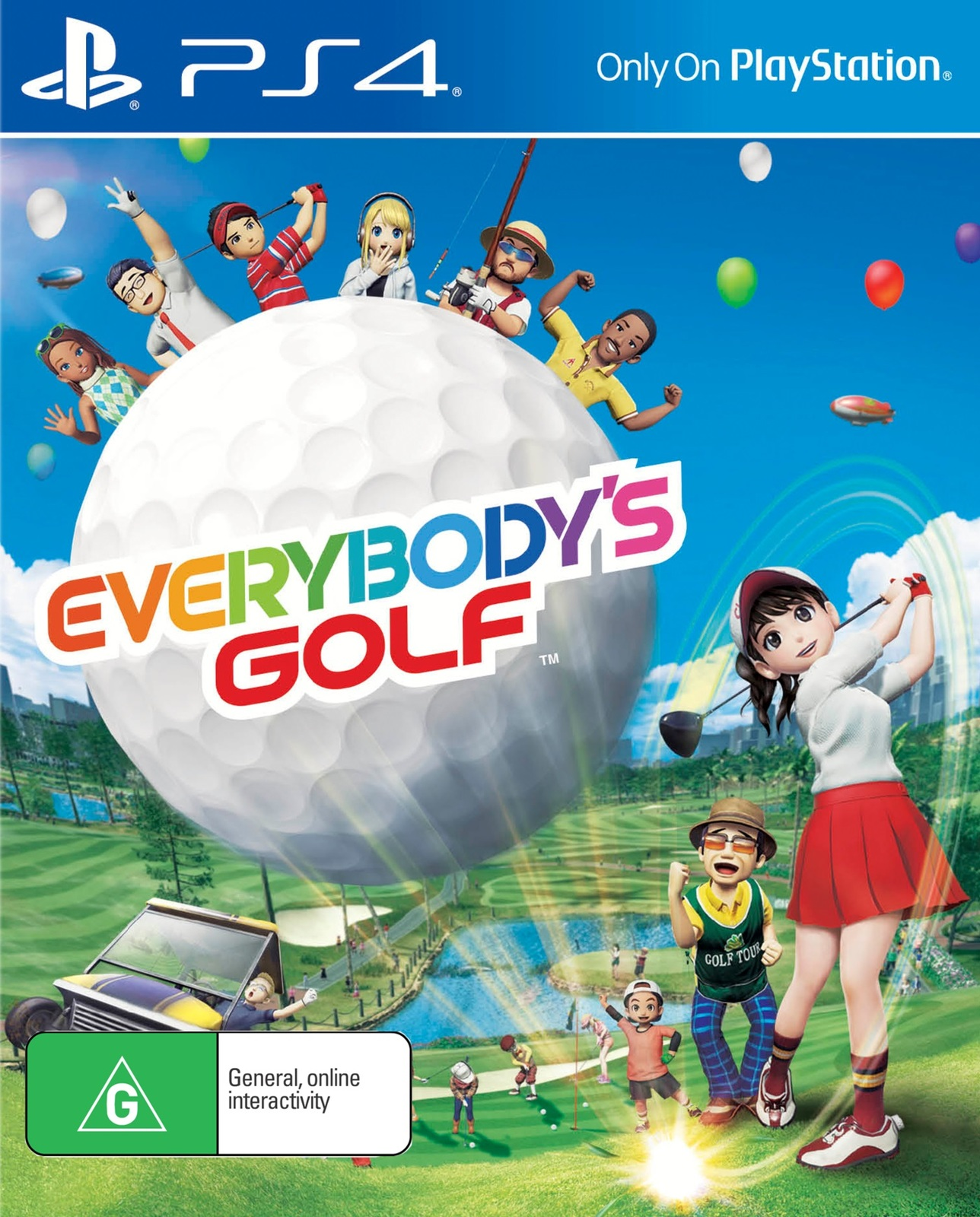 Everybody's Golf for PS4 image