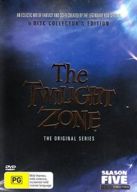 Twilight Zone, The - The Original Series: Season 5 - Collector's Edition (6 Disc Box Set) on DVD image