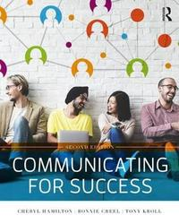 Communicating for Success by Bonnie Creel