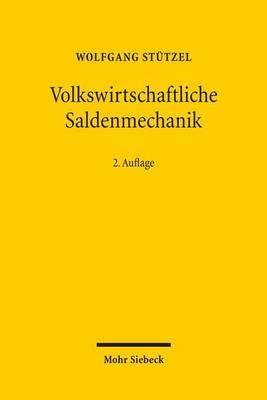 Volkswirtschaftliche Saldenmechanik by Wolfgang Stutzel image