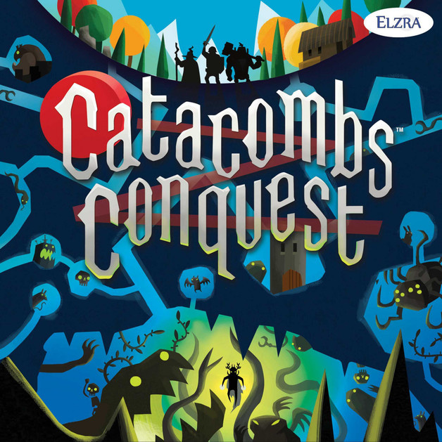 Catacombs Conquest - Board Game