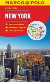 New York Marco Polo City Map - pocket size, easy fold, New York street map by Marco Polo