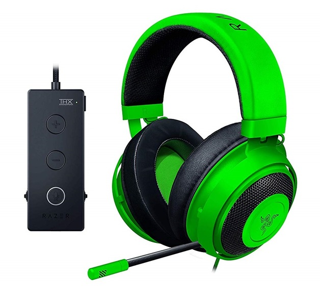 Razer Kraken Tournament Edition Gaming Headset - Green for PC