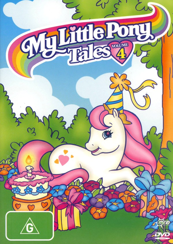 My Little Pony Tales: Volume 4 on DVD image