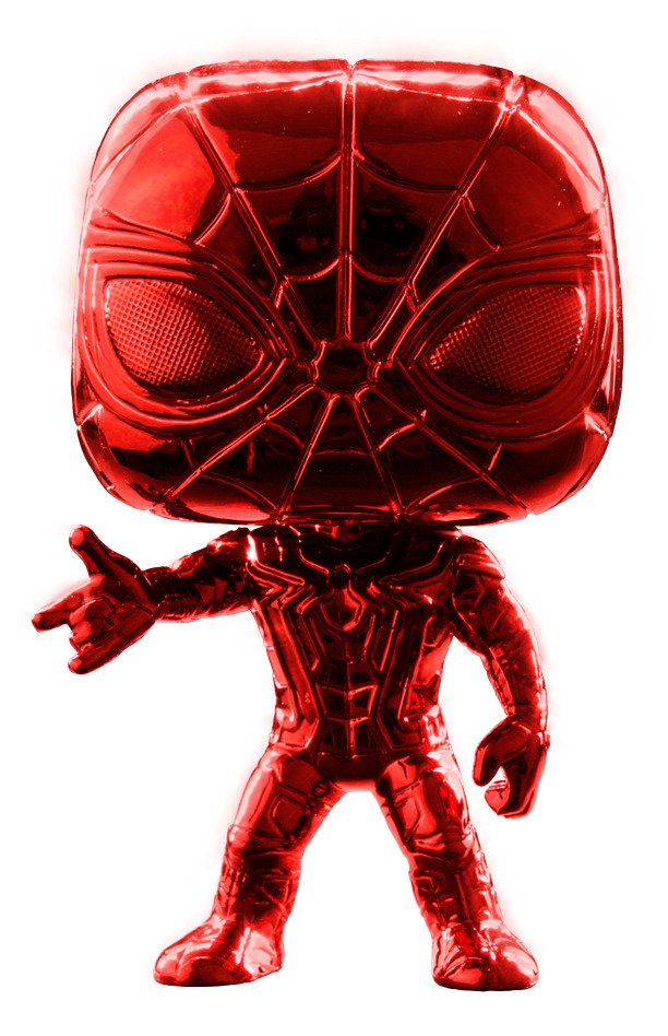 Avengers: Infinity War - Iron Spider (Red Chrome) Pop! Vinyl Figure image