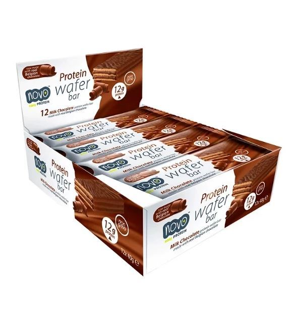 Novo Protein Wafer Bars - Chocolate (12x40g)