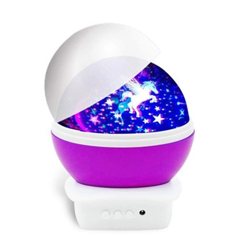 Unicorn Night Lamp - Purple image