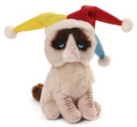 Grumpy Cat: Court Jester - Beanbag Plush