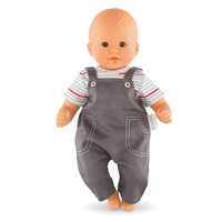 Corolle Classique 36cm Doll Clothing - Denim Overalls Set image