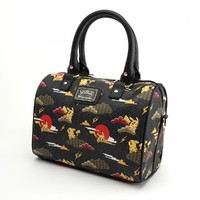 Loungefly Pokemon Pikachu Cloud Print Duffle Bag