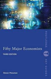 Fifty Major Economists by Steven Pressman