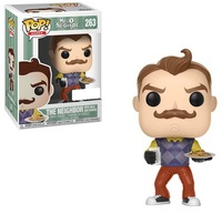 Hello Neighbor - The Neighbor (with Milk & Cookies) Pop! Vinyl Figure
