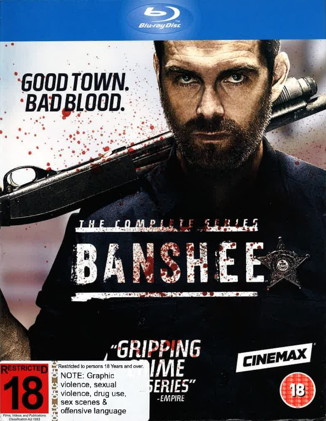 Banshee - The Complete Series on Blu-ray image