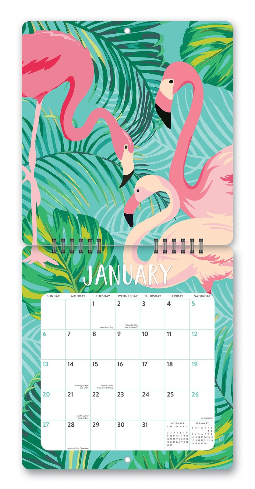 Studio Redux: No Bad Days 2019 Mini Wall Calendar image