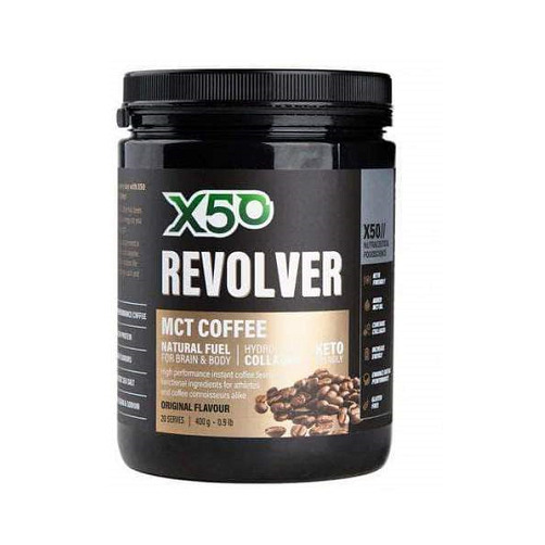 X50 Revolver MCT Coffee - Original (400g)