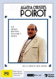 Agatha Christie's: Poirot - Series Six (4 Disc Set) on DVD