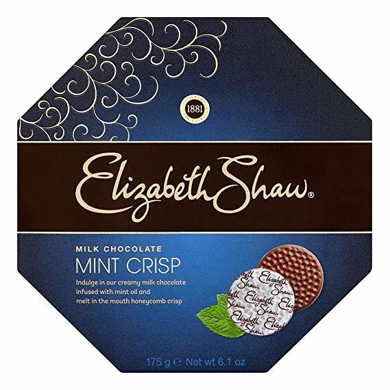Elizabeth Shaw Mint Crisp Milk Chocolates 175g