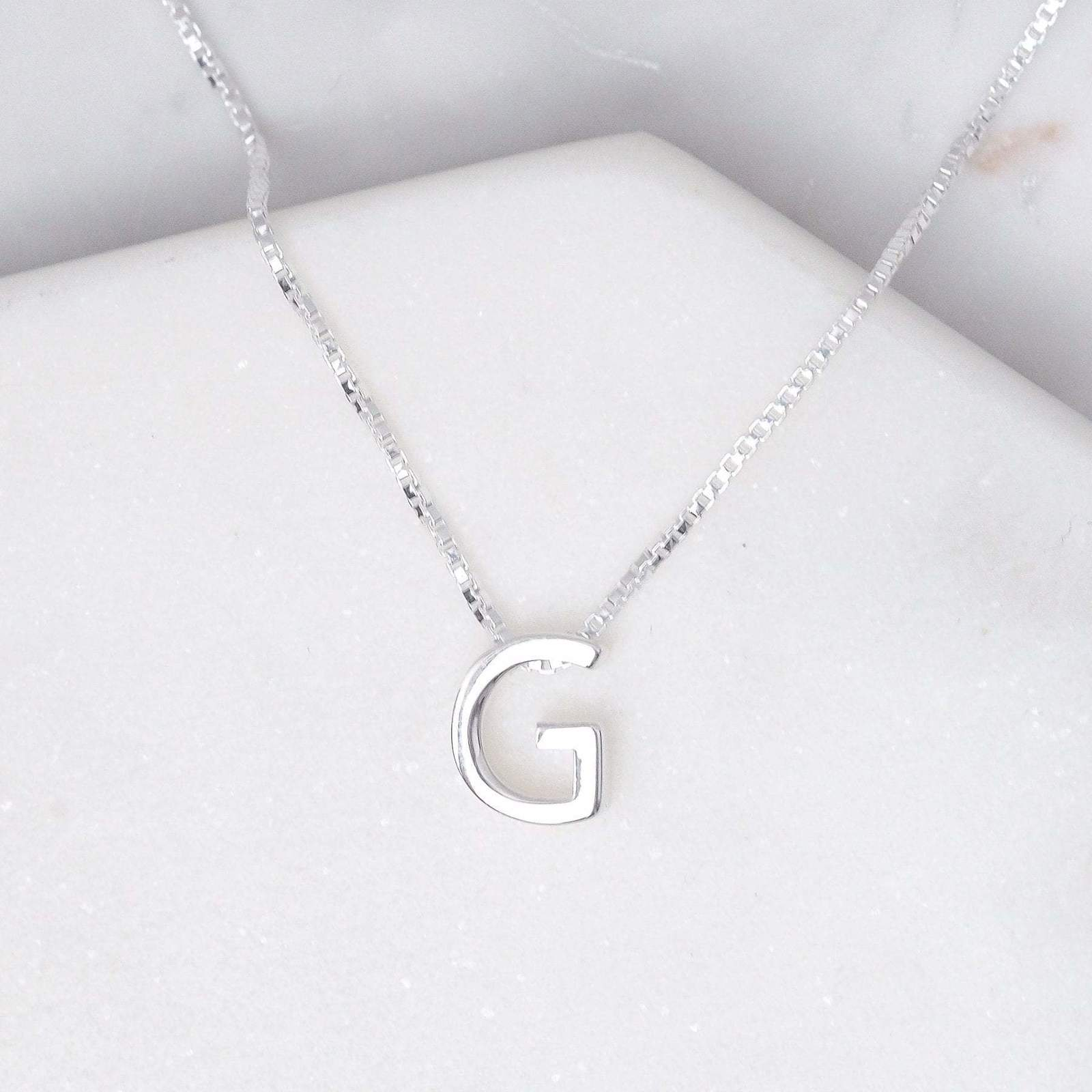 Midsummer Star: Alphabet Necklace - G image