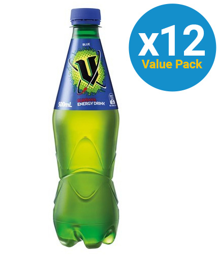 V Blue PET Bottles (12 x 500ml)