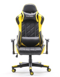 Playmax Elite Gaming Chair - Yellow and Black for  image