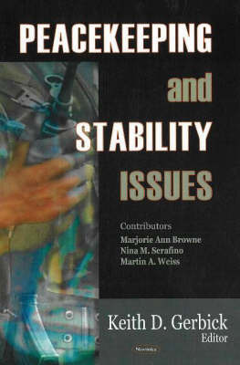 Peacekeeping & Stability Issues image