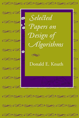 Selected Papers on Design of Algorithms by Donald E. Knuth image