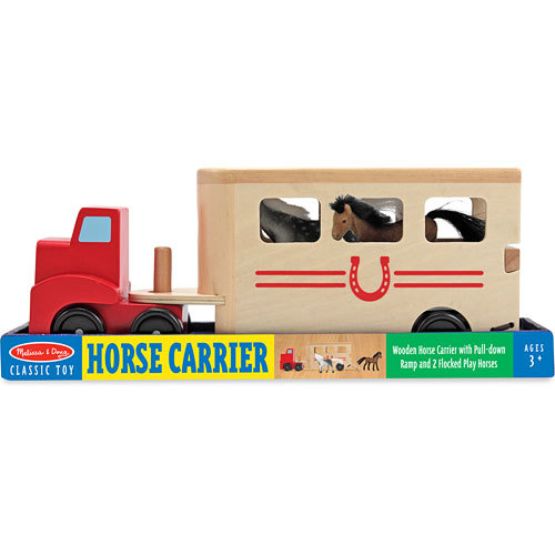 Melissa & Doug: Wooden Horse Carrier image