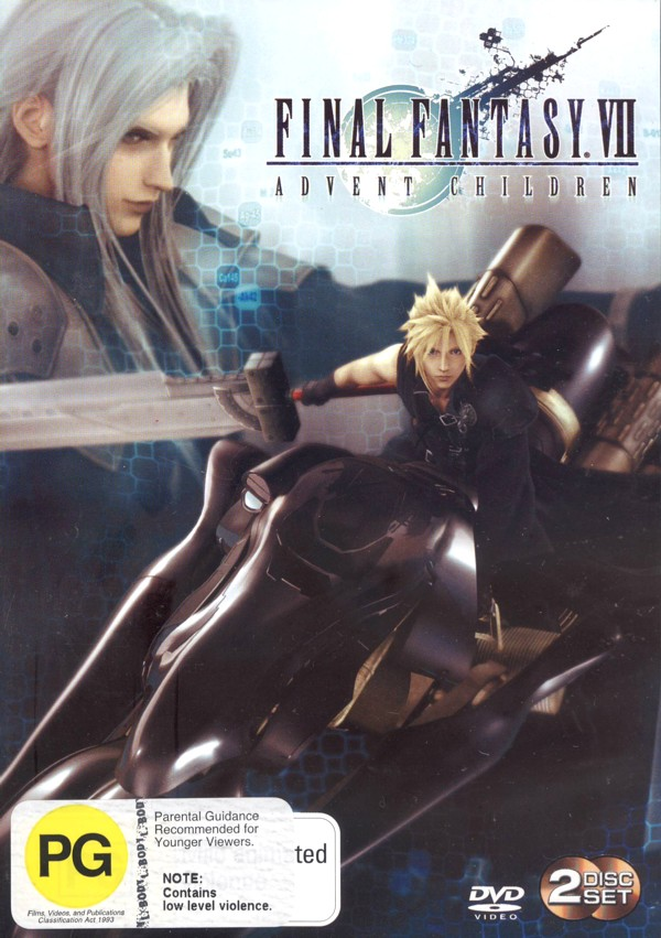 Final Fantasy VII: Advent Children (2 Disc) on DVD image