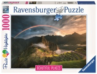 Ravensburger: 1,000 Piece Puzzle - Rainbow over Machu Picchu