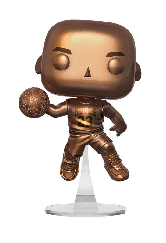 NBA: Bulls - Michael Jordan (Bronze) Pop! Vinyl Figure