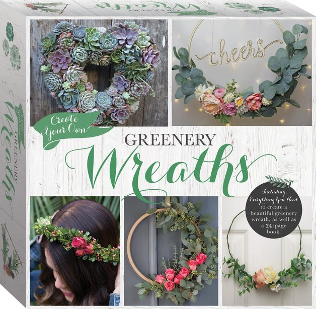 Hinkler: Create Your Own - Greenery Wreath Kit