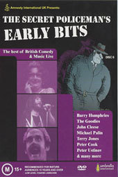 Secret Policeman's Ball, The - Early Bits on DVD