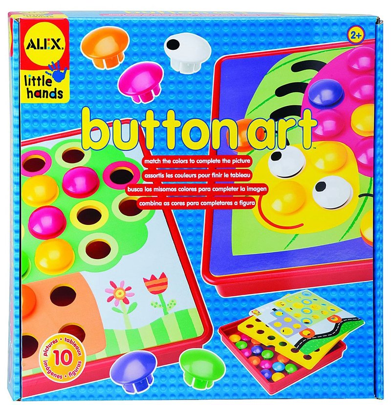 Alex: Button Art image