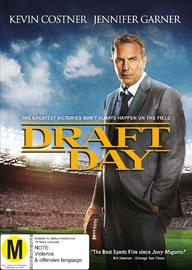Draft Day on DVD