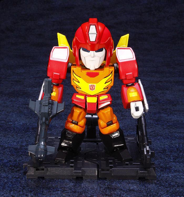Transformers ES Gokin Rodimus Prime Figure image