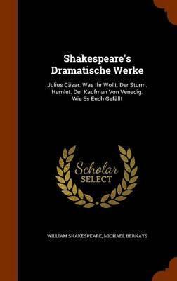 Shakespeare's Dramatische Werke by William Shakespeare image